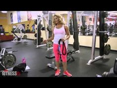 Resistance Band Training Part 3 – Triceps | FitnessRX for Women