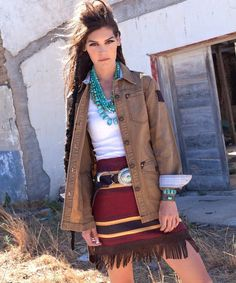 You can't go wrong with Double D Ranch and I need this skirt.