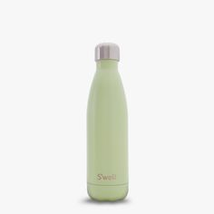 The new Swell Bottle, Seafoam, in a light green satin finish. Keeps liquids cold for 24 hours and hot for 12.