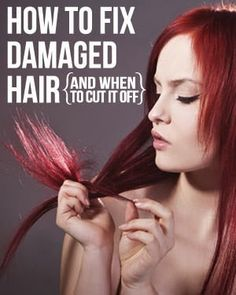 How To Fix Damaged Hair - The Beauty Goddess