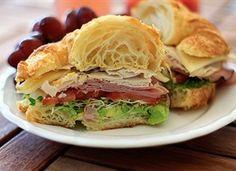 "California ""Club"" Croissant Recipe - Tablespoon"