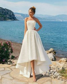 Wedding Dress Inspiration - sleeveless a-line wedding gown ,wedding dresses A Line Prom Dresses, Cheap Prom Dresses, Prom Party Dresses, Party Gowns, Bridal Dresses, Evening Dresses, Dress Party, Sexy Dresses, Long Dresses