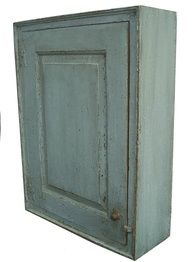 Late century New England raised panel Hanging Cupboard Primitive Furniture, Primitive Antiques, Country Furniture, Old Antiques, Antique Shops, Antique Items, Antique Furniture, Furniture Decor, Painted Furniture