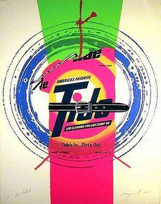 James Rosenquist - Artist Rights Today (Tide) - Artwork details at artnet James Rosenquist, Pop Art Movement, Visual Memory, Jim Dine, Oldenburg, Arte Pop, Art For Art Sake, Cultura Pop, American Artists