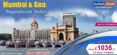 Enjoy a magnificent experience of the beaches in India at Mumbai and Goa! Exclusive offers available on all packages. Call now! http://www.southalltravel.co.uk/holidays-india/commercial-capital-india-goan-beach.aspx