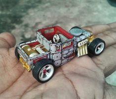 Custom Hot Wheels, Custom Cars, Bone Shaker, 1960s Toys, Tow Truck, Model Car, Slot Cars, Model Building, Diecast Models
