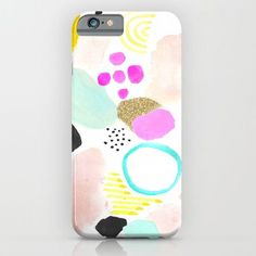 MIAMI+MOOD+iPhone+&+iPod+Case+by+Ashley+Mary+Art+++Design+-+$35.00