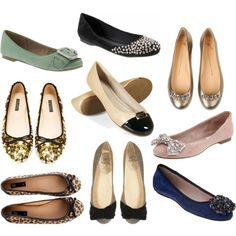 #flats #shoes #ballerinaflats