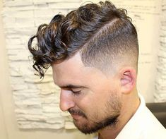 The Taper Fade Haircut - Types of Fades - Men's Hairstyles and . haircut types 35 Best Taper Fade Haircuts + Types of Fades Guide) haircut types Cool Hairstyles For Men, Hairstyles Haircuts, Haircuts For Men, Haircut Men, Medium Hairstyles, Boys Curly Hairstyles, Boys Curly Haircuts Kids, Waves Haircut, Formal Hairstyles