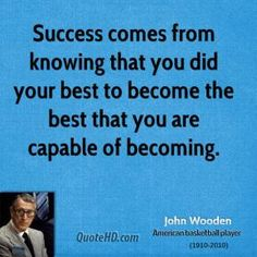 John Wooden Leadership Quotes Fascinating John Wooden's Nine Promises That Can Bring Happiness Inspirational . Design Decoration