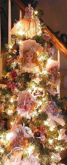 Victorian Doll Tree