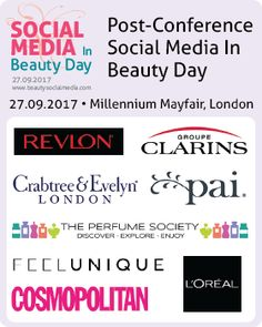Looks like an info packed day for any UK indie beauty brands. Revlon, Beauty Trends, Loreal, Conference, Innovation, Indie, Social Media, Events, Day
