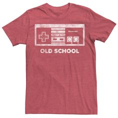 Nintendo Systems, Old School, Graphic Tees, Short Sleeves, Mens Tops, Women's Shorts, Color Red, Gender, Age