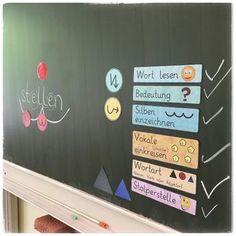 """Als ritualisierten Unterrichtsbeginn gibt es in meiner 2. Klasse """"Das Wort des Tages"""". Hierbei wird immer ein Wort genau unter die Lupe genommen. Bei den Kindern ist der Ablauf schon so automatisiert, dass ich mich völlig zurücknehmen kann...und nebenbei wird noch ein bisschen Rechtschreibung gelernt #instalehrer #instateacher #grundschulideen #wortdestages #unterrichtsbeginn #deutschunterricht #grundschule #grundschullehrerin #grundschulalltag #grundschul"""