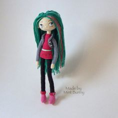 Made By Mint Bunny — My new crochet doll.