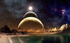 Science Fiction | Planets Science Fiction Photomanipulations Fresh New HD Wallpaper Best ...