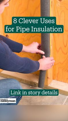 Simple Life Hacks, Useful Life Hacks, Pipe Insulation, Basement Remodel Diy, Home Fix, Diy Home Repair, Home Repairs, Diy Home Crafts, Diy Home Improvement