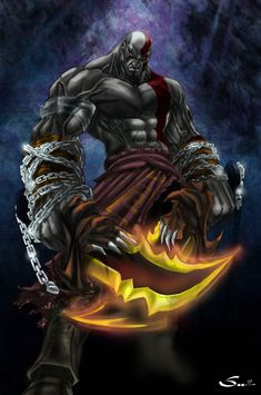An Epic Gallery of God of War Fan Art Percabeth, Playstation 2, Ps3, Kratos Mortal Kombat, Destiel, Steven Universe, Fan Art Avatar, Tobias Menzies, Supernatural