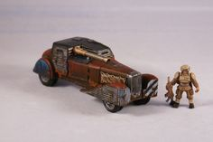 Crazy Joe's Post Apocalyptic Automobile Sci Fi 25mm 28mm Scale Vehicle | eBay