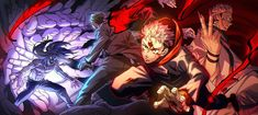 Anime Fight, Anime Demon, Manga Anime, Anime Art, Pandora Hearts Oz, Manhwa, Wallpaper Pc Anime, Anime Boy Hair, Slayer Anime