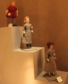 Finnish Martta dolls from 1940s by Hannhell