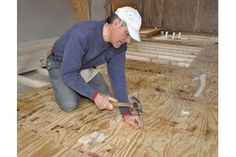 Mobile home flooring is not always of the best quality. The sub floor is frequently constructed of particle board, with carpet or linoleum installed on top of this. If the floor in your mobile home is becoming spongy or creaks excessively, one solution is to add a new layer on top of the existing sub floor. This solution is easier than the...