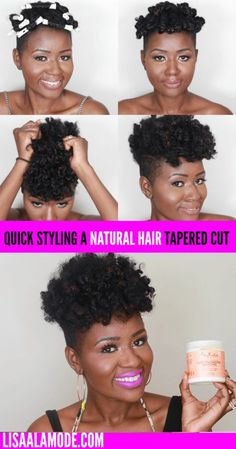 The ONLY Natural Hair Product You Need This Summer: SheaMoisture's Curl Enhancing Smoothie - Lisa a la mode - March 16 2019 at Tapered Natural Hair Cut, Natural Hair Short Cuts, Natural Hair Styles, Best Natural Hair Products, Natural Hair Care Tips, Natural Hair Journey, Natural Haircare, Curl Enhancing Smoothie, Locks