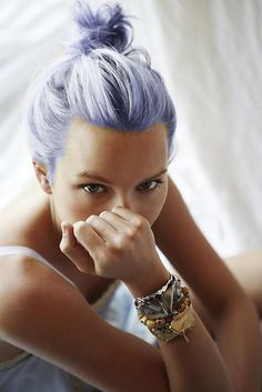 Blue pastel + mermaid hair hairstyle inspiration.  Pinned by www.livewildbefree.com