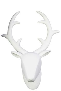 Add A Silver Deer Head For Different Look This Christmas