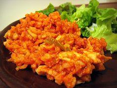 Mama Me Gluten Free: Super-easy chicken cacciatore with rice