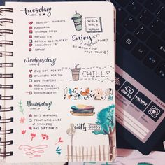 ♛ Bullet Journals ♛ — enjoying-ce: My first ever Bullet Journal Update...