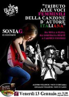 "Friuli #Venezia #Giulia: Al #""The Black Stuff"" venerdì musicali al femminile: Sonia G e la canzone d'autore itali... (link: http://ift.tt/2jgAsNV )"