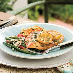 Quick and Easy Chicken Recipes: Lemon Chicken < Quick-Fix Chicken Suppers - Southern Living Mobile