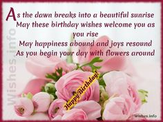 beautiful birthday wishes - Google Search