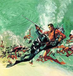 Thunderball - Robert McGinnis artist