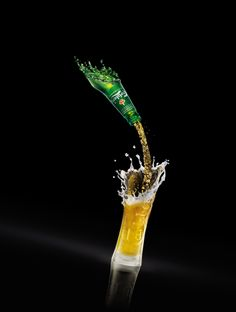 Carlsberg Single Pour.