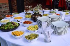 Hacienda Santa Catalina - Arte & Gourmet Eventos Cata, Table Settings, Gourmet, Haciendas, Place Settings, Tablescapes