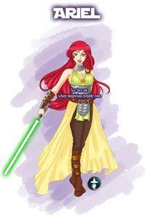 Jedi Ariel by White-Magician