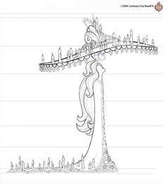 The book of life - 20th century Fox/Reel FX - La Muerte sketch coloring page