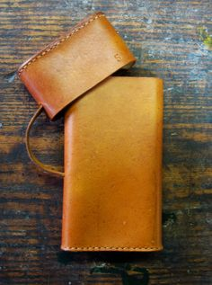 No. 5 CIGAR CASE by KaraGintherLeather on Etsy