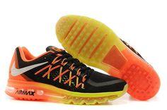 Air Max 2015 Orange Black Yellow