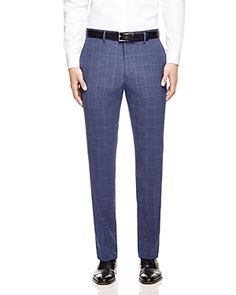 Original Penguin Windowpane Slim Fit Dress Pants - Compare at $150