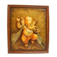 Antique Ganesha Painting