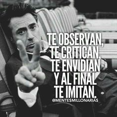 Inspirational Phrases, Motivational Phrases, Desire Quotes, Positive Phrases, Millionaire Quotes, Smart Quotes, Pretty Quotes, Some Quotes, Spanish Quotes