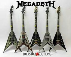 Megadeth GUITARS