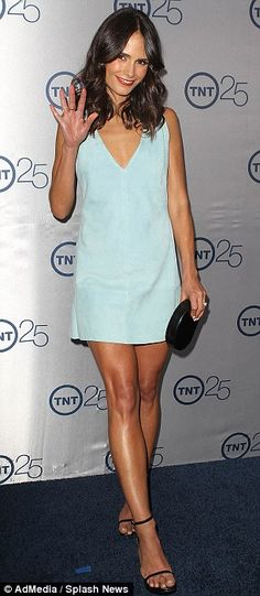 Jordana Brewster @Trish Papadakos Momtsios's 25th anniversary party in Beverly Hills in Los Angeles