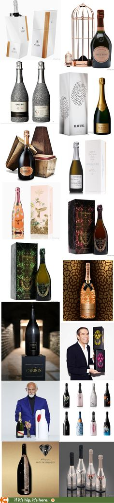 All the best beautifully bottled champagnes in one place