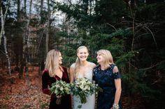 Kat & Dave's Winter Barn Wedding - Maine Barn Wedding Venue