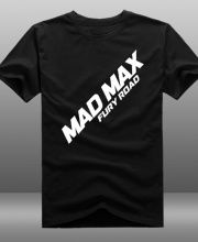 Movie Mad Max Fury Road t shirt for men short sleeve-