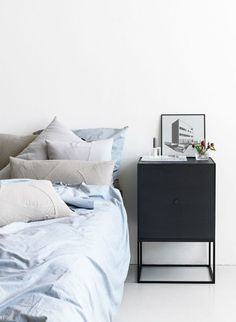 Seriously crisp bedrooms | by Lassen